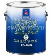 Sherwin-Williams ProMar® 200 Zero VOC Interior Latex Egg Shel