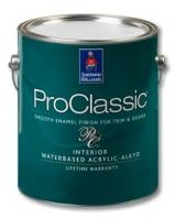 Sherwin-Williams ProClassic® Interior Waterbased Acrylic-Alkyd Enamel